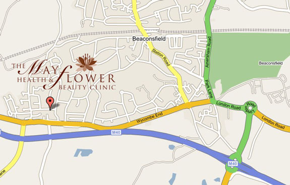 Find us: 35 Mayflower Way, Beaconsfield, HP9 1UG
